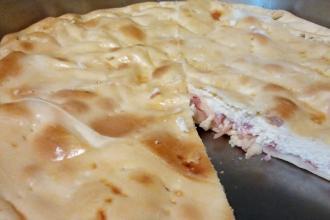 Pizza di ricotta