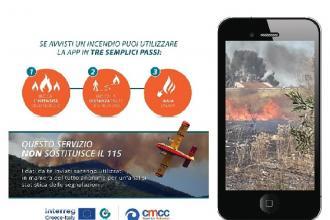 Con FireAware i cittadini segnaleranno incendi in Italia e Grecia