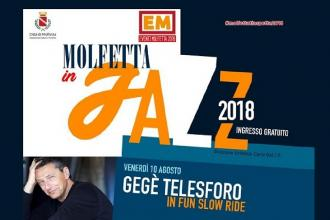 "In arrivo Gegè Telesforo per ""Molfetta in jazz"""