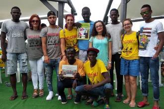 """La squadra di """"Svegliarci"""" ha partecipato ai Mondiali Antirazzista"""