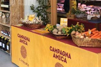 Apre il mercato contadino di Coldiretti e Campagna amica