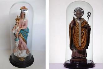 Per Natale il Comune organizza una mostra di statue di Santi e Madonne