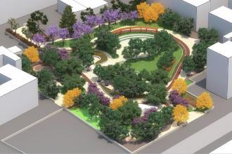 Reso noto il progetto del parco urbano all'ex Gasometro