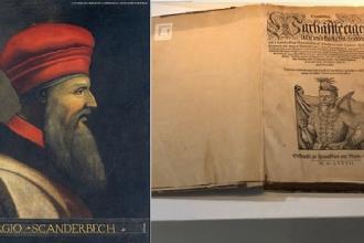 Una mostra dedicata all'eroe albanese in Puglia Castriota Scanderbeg