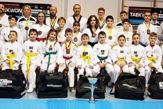 Successo alle interregionali di Taekwondo per la squadra di Montanaro