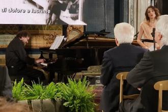 Al Quirinale esibizione del maestro Lotoro per la musica ebraica