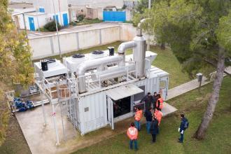 Il depuratore dell'Aqp produce energia elettrica dai fanghi