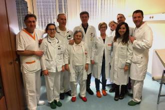 Cemento biologico al ginocchio, primo intervento in Puglia