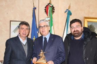 Il sindaco riceve e premia rappresentanti locali dello sport