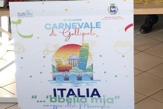 Il 78° Carnevale sarà un omaggio alla Bella Italia