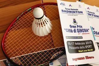 """Oltre 200 gli atleti di badminton per il 2° Trofeo """"Città di Ginosa"""""""