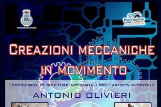 Ingegno e fantasia nelle otto macchine di Antonio Olivieri in mostra