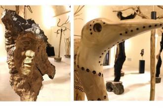 Tronchi e rami d'ulivo, opere d'arte per un grido contro la Xylella