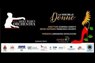 Per la giornata delle donne concerto con la Red Shoes Women Orchestra