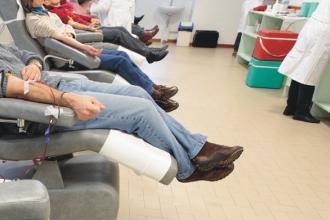 Le donazioni di sangue aumentate in Puglia insieme con i donatori