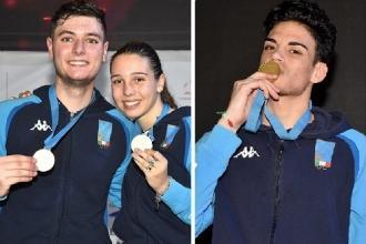 Ai Campionati europei di scherma vinti altri tre ori e un bronzo