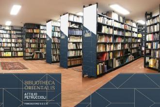 Nel Polo Museale la Biblioteca dedicata all'architettura orientale