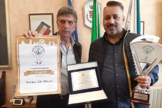 Il pizzaiolo Cristallo tra i migliori d'Europa premiato dal sindaco