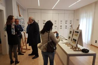 All'Ordine degli Architetti la mostra dei lavori di Mauro Andreini