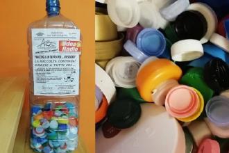 Nelle scuole i raccoglitori di tappi di plastica, voluti dal sindaco