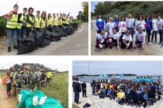 Diciotto aree di 12 diverse città del Salento ripulite dai puliziotti