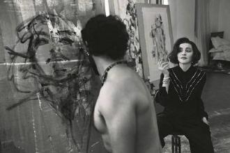 L'artista Tony Cassanelli ha ritratto la popstar Madonna