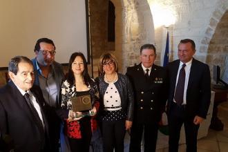 """Il premio """"Anello di San Cataldo"""" alla direttrice del MarTa"""