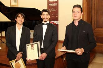 E' francese il vincitore dell'International Piano Competition
