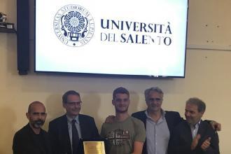 Gli atleti vincitori ai Campionati Universitari ricevuti dal rettore