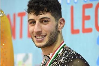 Marco Giustino parteciperà al World Roller Games
