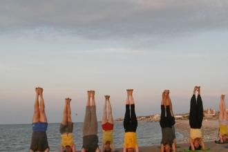 Gli yogi pugliesi celebrano l'International Yoga Day