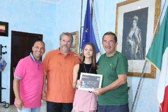 Premiata dalla sua città la giovane ballerina Cuocci