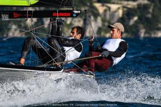 I baresi Ferrarese e Galati vincono il Campionato nazionale di vela