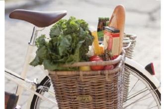 Fare la spesa in bici consentirà di avere sconti