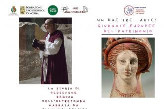 Per le Giornate Europee del Patrimonio in scena la storia di Persefone