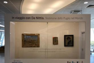 Tre quadri di De Nittis in mostra all'aeroporto