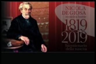 Per i 200 anni dalla nascita di Nicola De Giosa, concerto e mostra