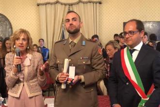 Medaglia d'oro al maggiore dell'Esercito di Caprarica
