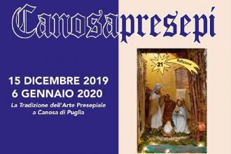 Inaugurata la mostra-concorso del presepio artigianale CanosaPresepi