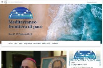 Un portale web per l'evento 'Mediterraneo, frontiera di pace'