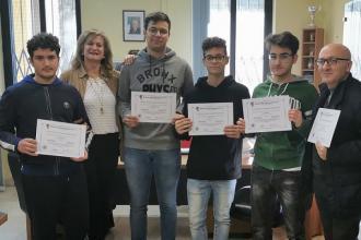 Studenti del liceo 'Volta' primi in gare di informatica