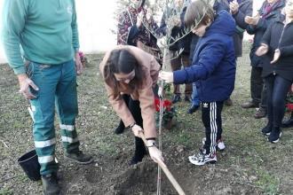 Gli alberi dei pensionati Spi Cgil piantumati anche a Margherita