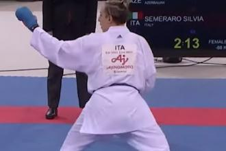 La karateka Semeraro vince in Cile e si avvicina alle Olimpiadi