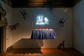 Omaggio a Chiara Fumai nel Teatro Margherita