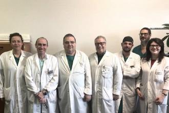 Al Perrino primo impianto neurostimolatore a paziente con Parkinson