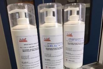 Produzione galenica di disinfettanti per mani