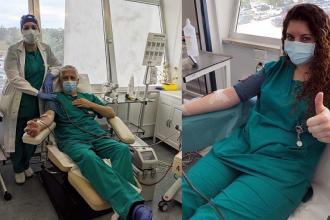 Due operatori sanitari i primi donatori di plasma iperimmuni da covid