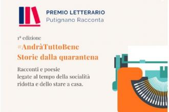 """Il primo premio letterario """"Putignano Racconta"""" dedicato alla pandemia"""