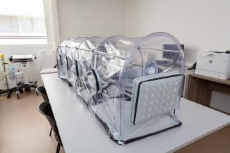 La sede dell'Onu di Brindisi dona al 'Perrino' una biobarella