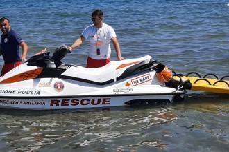 Attivati servizi rapidi di soccorso in mare dall'Asl Bt